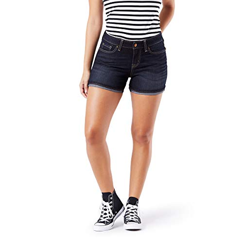 Signature by Levi Strauss & Co. Gold Label Women's Mid-Rise Shorts