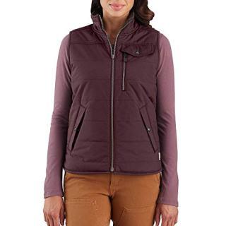 Carhartt Women's Utility Sherpa Lined Vest, Deep Wine