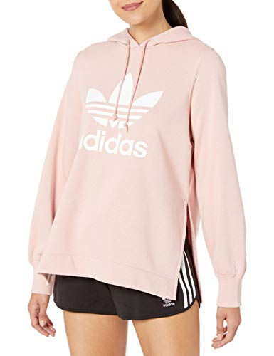 adidas Originals Women's Hooded Sweatshirt, pink spirit