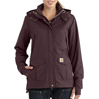 Carhartt Women's Shoreline Jacket (Regular Sizes), Deep Wine