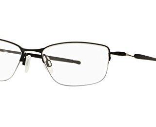 Oakley Men's Lizard 2 Rectangular Titanium Eyeglass Frames Non Polarized