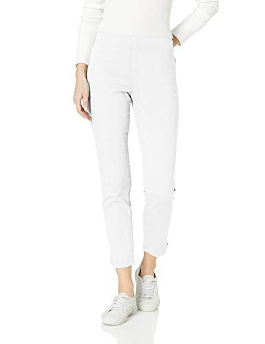 NYDJ Women's Pull On Skinny Ankle Jean with Side Slit