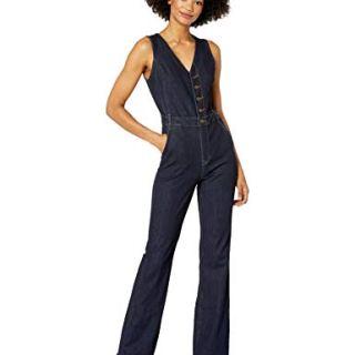 Ella Moss Women's Vest Jumpsuit, Rinse