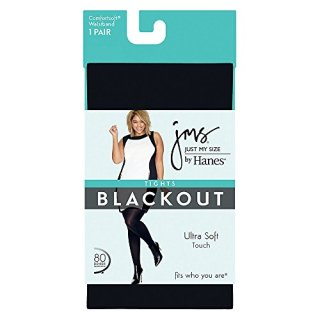 Just My Size by Hanes Womens Blackout Tight