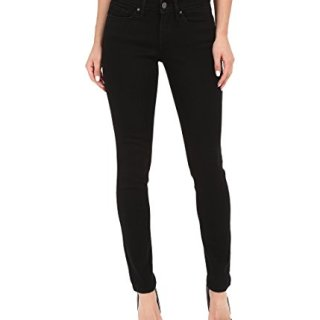 Levi's Women's 711 Skinny Jeans, Soft Black, 27 (US 4) R