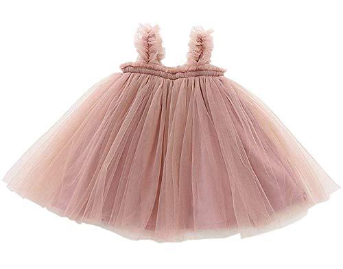GSVIBK Baby Girls Tutu Dress Toddler Tulle Tutu Dress Infant Long Sleeve