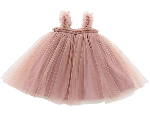 GSVIBK Baby Girls Tutu Dress Toddler Tulle Tutu Dress Infant Long Sleeve