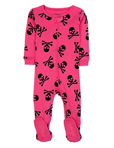 Leveret Kids Pajamas Baby Boys Girls Footed Pajamas Sleeper 100% Cotton