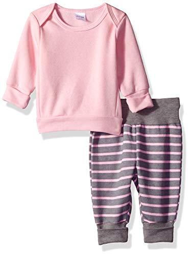 Hanes Ultimate Baby Flexy Adjustable Fit Jogger with Sweatshirt Set