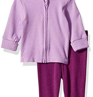 Hanes Ultimate Baby Flexy 2 Piece Set (Pant with Zippin Knit Hoodie)