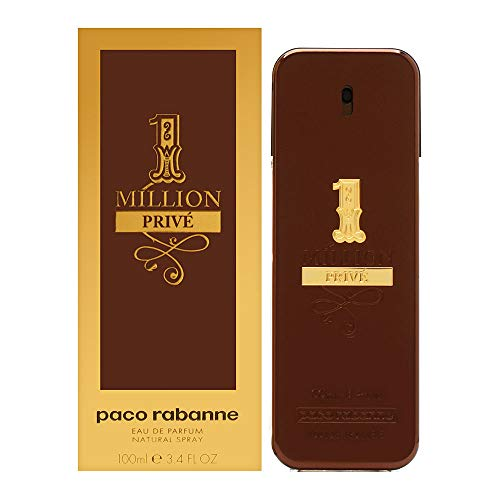1 Million Prive by Paco Rabanne for Men 3.4 oz Eau de Parfum Spray