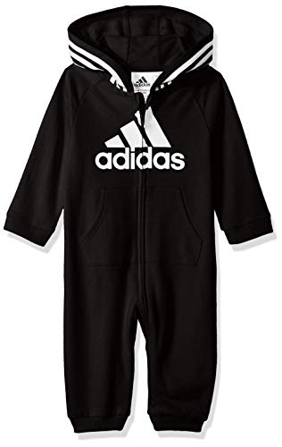 adidas Baby Girls Coverall, Black ark, 3 Months