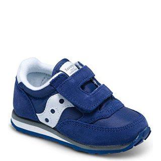 Saucony Jazz Hook & Loop Sneaker (Toddler/Little Kid), Cobalt Blue