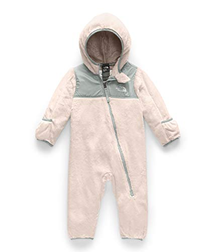 The North Face Infant OSO One-Piece, Purdy Pink/Meld Grey