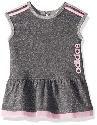 adidas Baby Girls Dress, Athletic Dark Grey