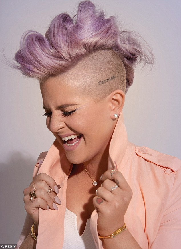 Kelly Osbourne Mixing It Up On Remix Cover Cloutier Remix