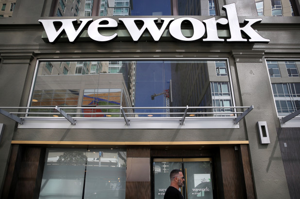 WeWork job cuts