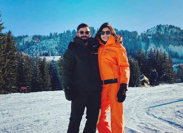 Anushka Sharma and Virat Kohli share picturesque moments from snowy Switzerland ahead of New Year