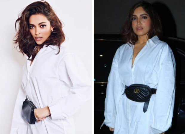 Deepika Padukone or Bhumi Pednekar Styling a white shirt in two refreshing ways 1 1
