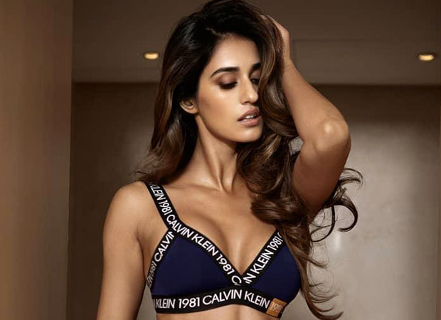 Disha Patani looks SMOKING HOT as she poses in Calvin Klein UNDERWEAR