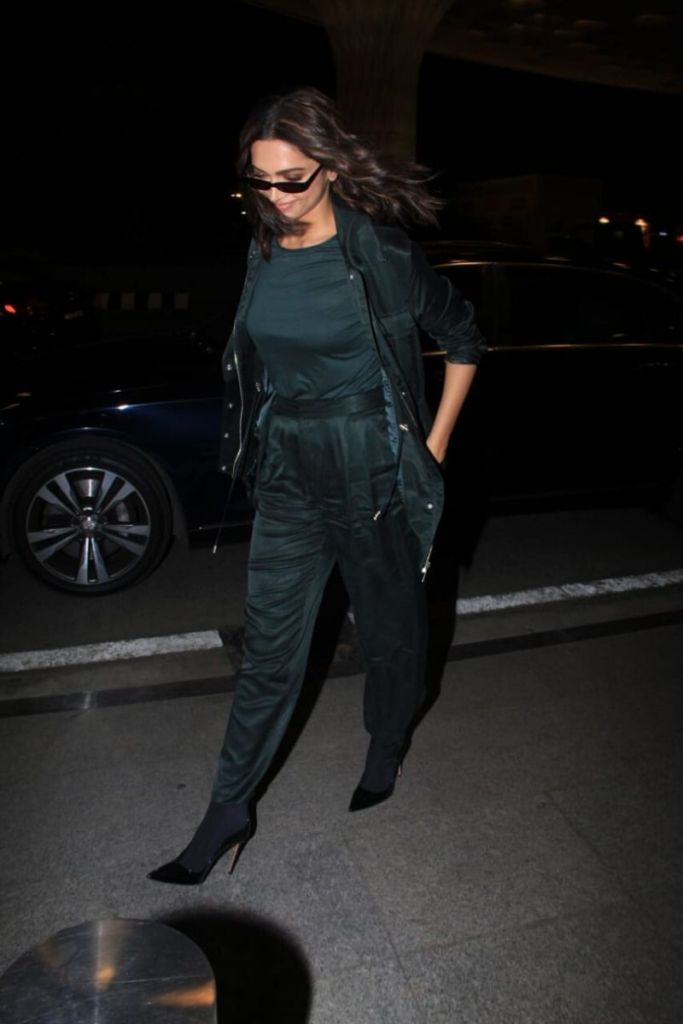 Deepika Padukone Nailed The All Green Airport Look With ...