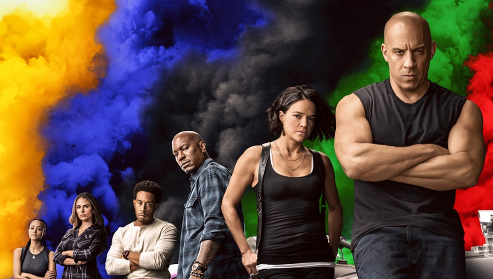 fast 9 poster cast universal