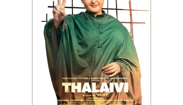 thalaivi first look poster