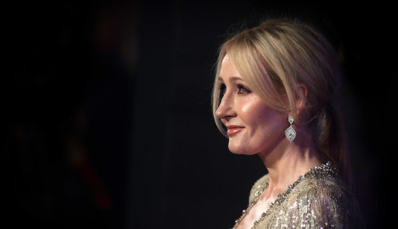 jk rowling attends the european premiere of fantastic beasts and where to find them at odeon leicester square on november 15 2016 in london england photo by mike marslandwireimage e1591853133725