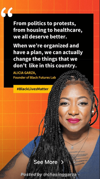Alicia Garza on Black Lives Matter