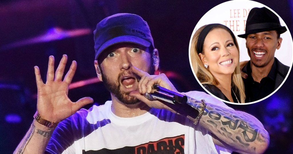Entire Eminem Mariah Carey Feud Was So Much Messier Than We Remember LANDING