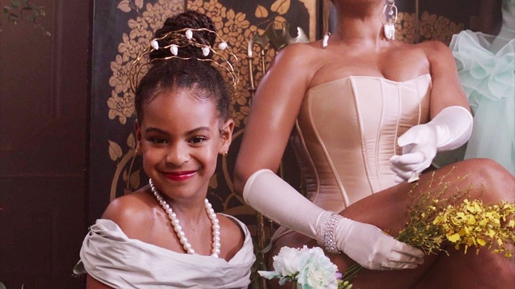12 All the Times Beyonce Kids Blue Ivy Sir and Rumi Appeared in Black Is King Visual Album