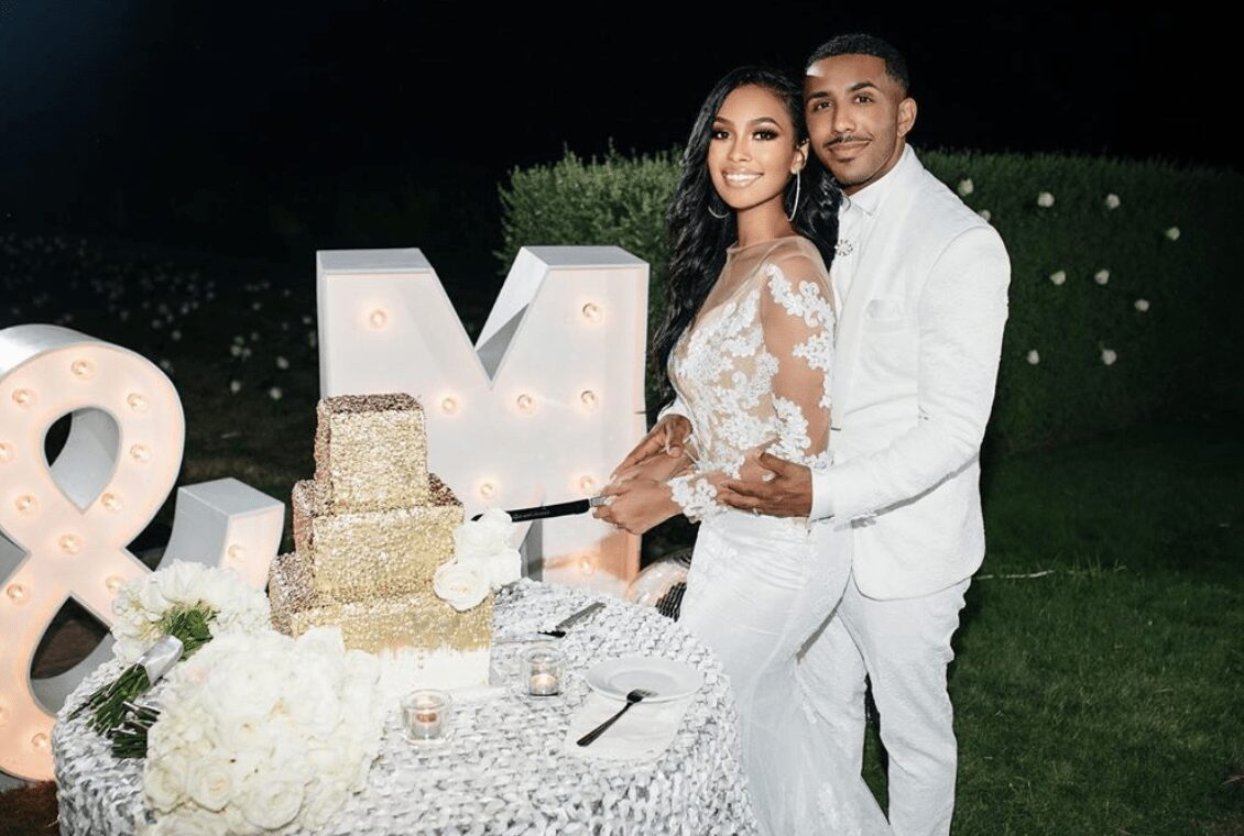 Marques Houston Marries 19 Year Old Miya Dickey 'Jehovah Has Blessed Us