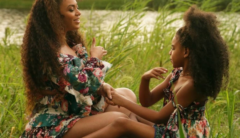 beyonce brown skin girl video blue ivy 2