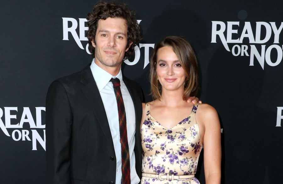 Adam Brody and Leighton Meester Make a Rare Red Carpet Appearance