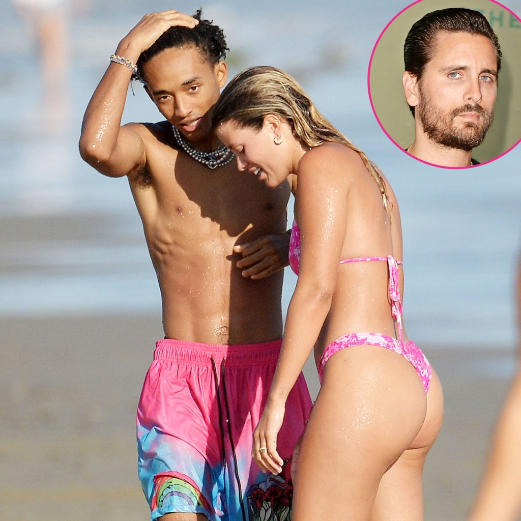 Sofia Richie and Jaden Smith Get Close at Malibu Beach After Her Split From Scott Disick