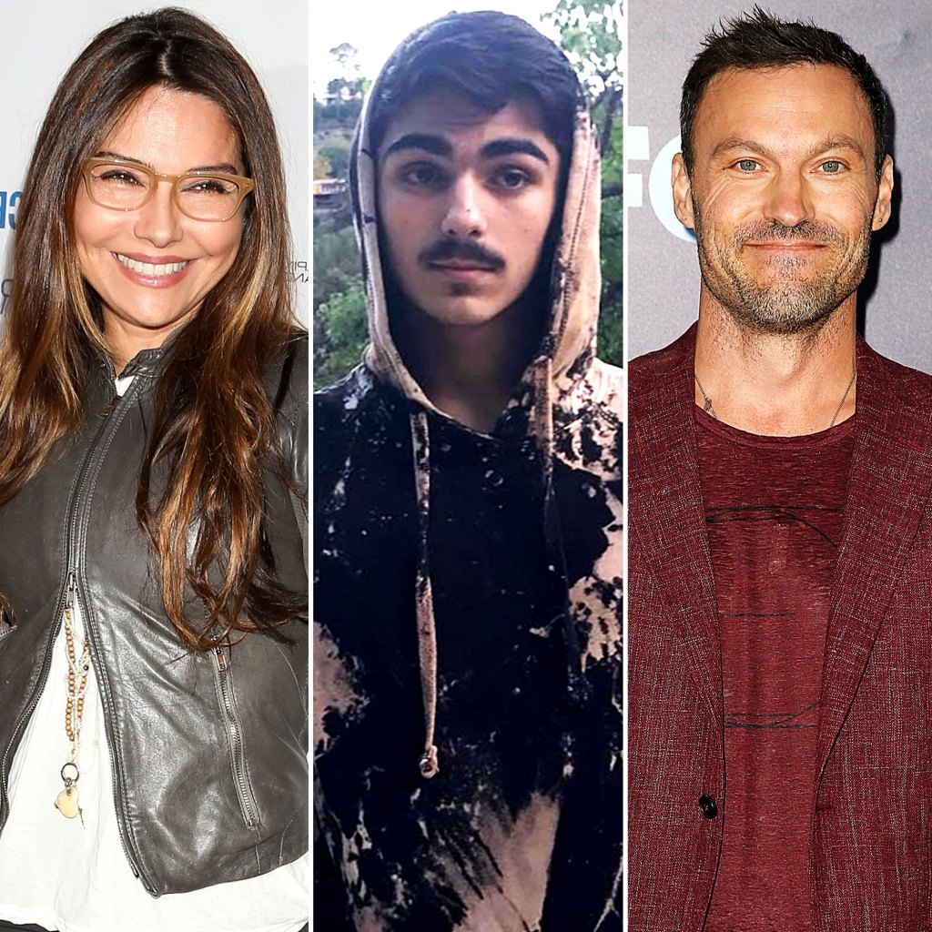 Vanessa Marcil Fiance Is So Happy Her Son Visited Dad Brian Austin Green