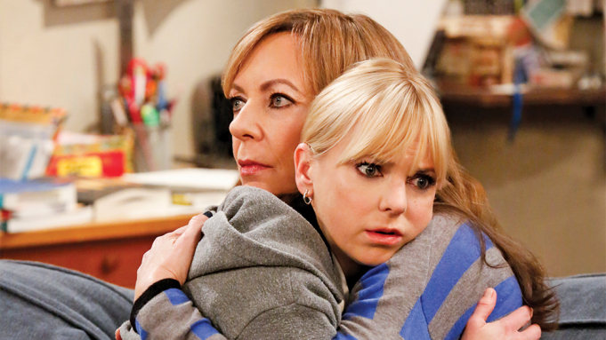 anna faris and allison janney mom tv show