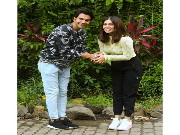 Rajkummar Rao and Bhumi Pednekar start Badhaai Do shoot, his new look helps fans to remember Akshay Kumar. See pics