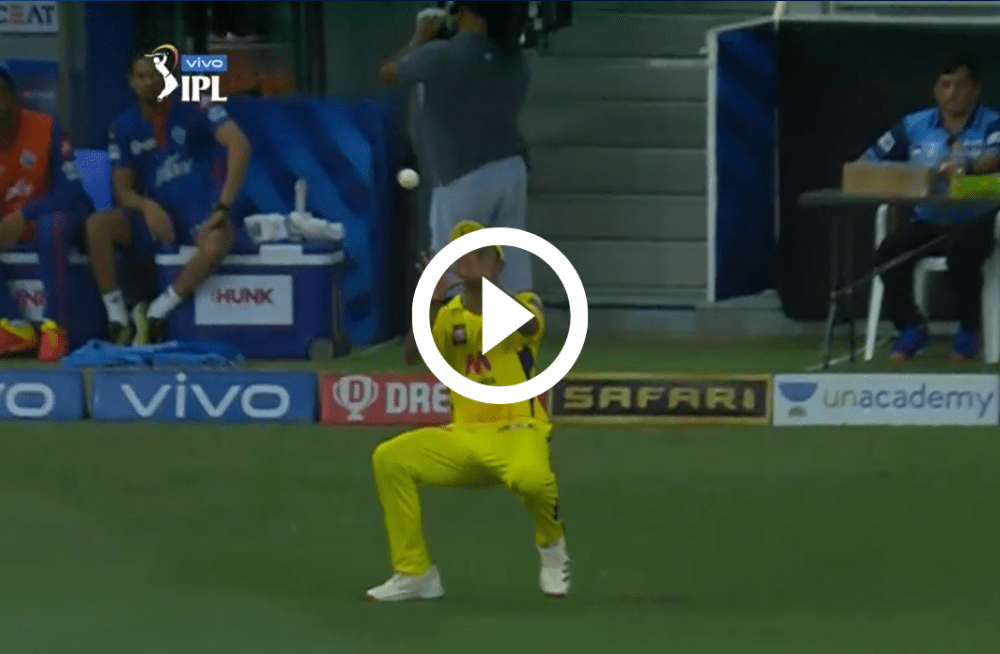 Video of Game-Changing Moment of Match : CSK vs DC : IPL 2021
