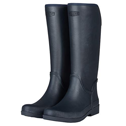 UNICARE Women's Knee High Rain Boots Waterproof Rain Shoes