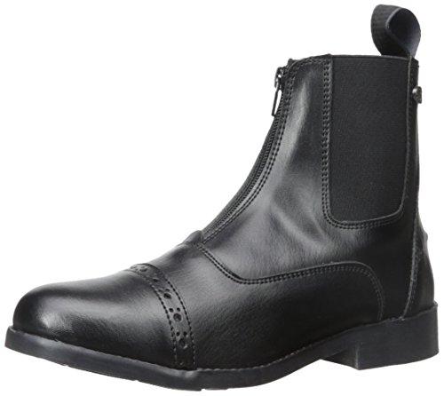 Equi-Star Ladies All Weather Zip Paddock Boots Black, 6