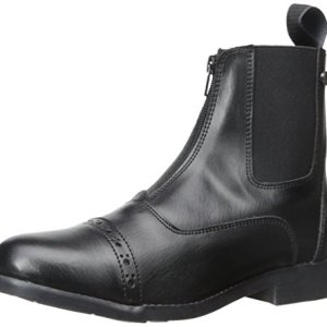 Equi-Star Ladies All Weather Zip Paddock Boots Black, 6