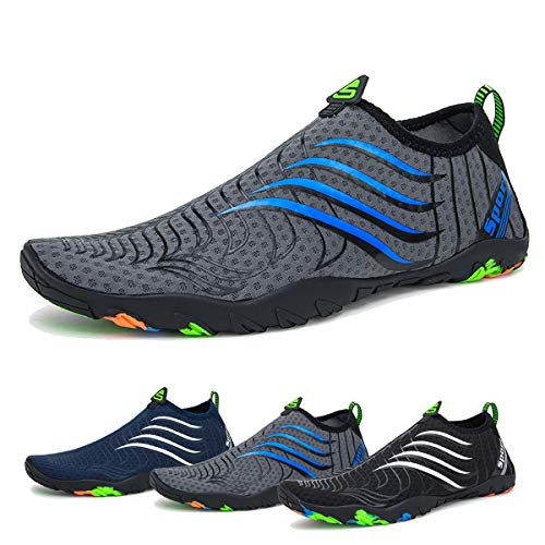 Water Shoes Mens Womens Beach Swim Shoes Quick-Dry Aqua Socks