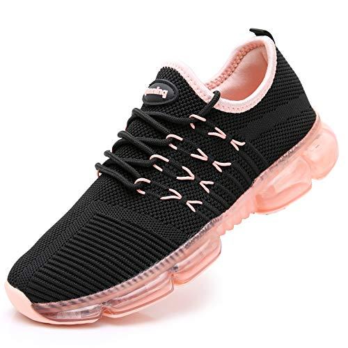 RomenSi Womens Breathable Slip On Tennis Walking Shoes Sport