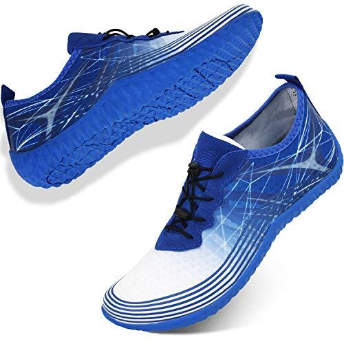 Barerun Womens Mens Water Shoes Barefoot Quick-Dry Aqua Socks