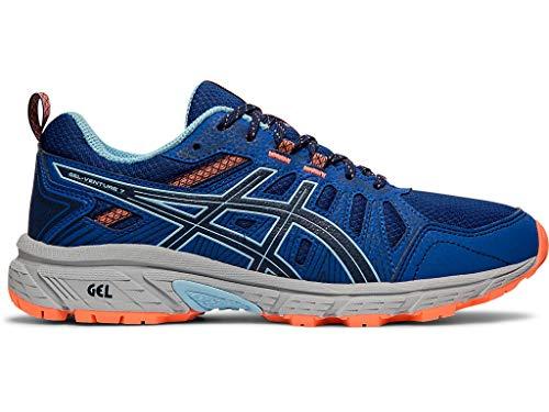 ASICS Women's Gel-Venture 7 Running Shoes, 6.5M, Blue Expanse/Heritage Blue