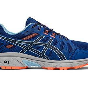 ASICS Women's Gel-Venture 7 Running Shoes, 6.5M, Blue Expanse/Heritage Blue