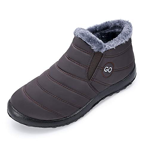 DUOYANGJIASHA Women Snow Boots Plus Size Warm Boots