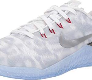 Nike Women's Metcon 4 Premium Training Shoe White/Metallic Silver