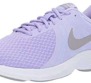 Nike Women's Revolution 4 Running Shoe, Purple Agate/Atmosphere Grey